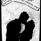 Personalized wedding program cover design