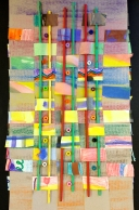 Mixed-Media Weavings: 2nd Grade