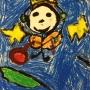 Miró-Inspired Figures: 1st Grade